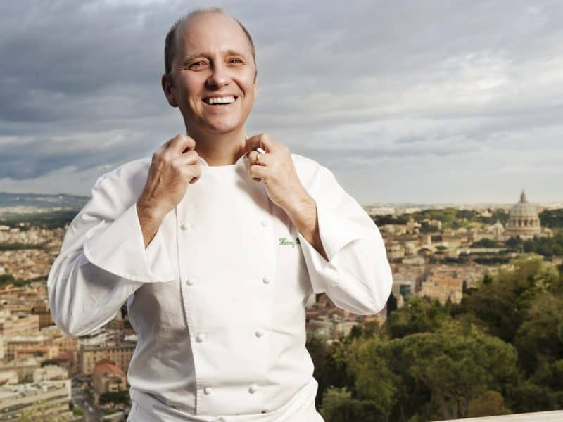 Chef Heinz Beck On Italian Cooking + Why Artisanal Pasta Is Nonsense